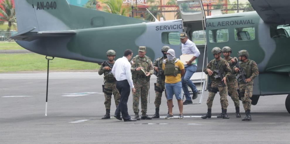 Captura de colombiano