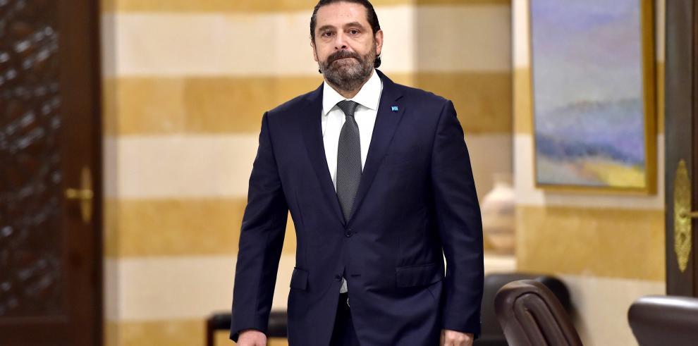 El primer ministro libanés anuncia la dimisión de su Gobierno