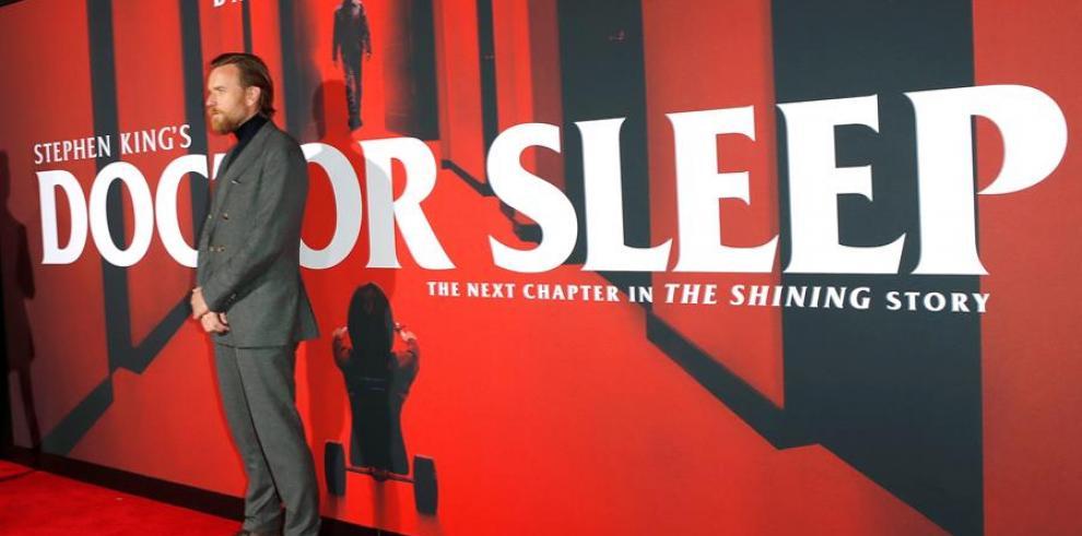 El actor escocés Ewan McGregor posa durante la presentación de'Doctor Sleep' en Los Angeles, USA