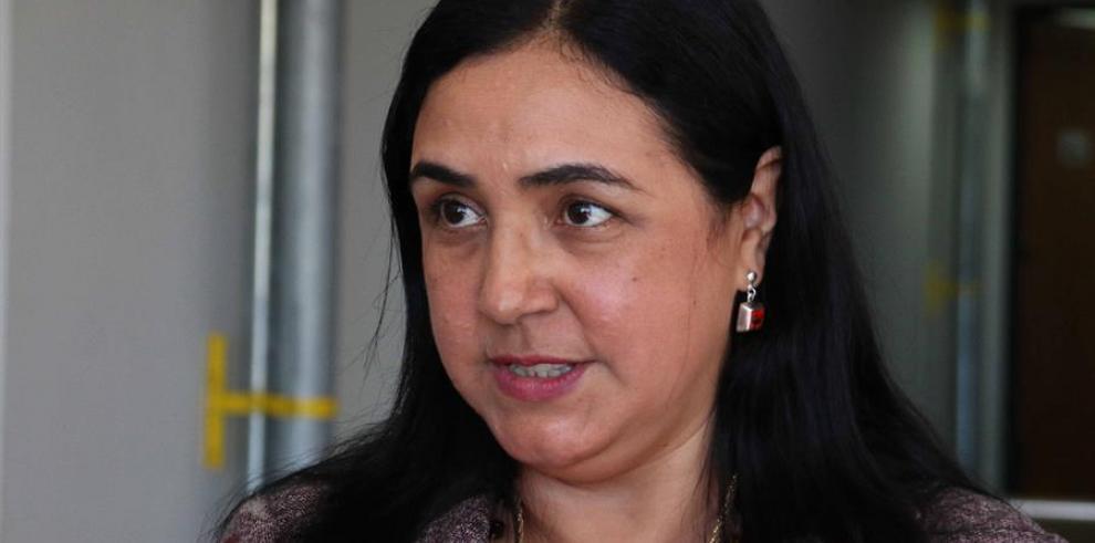 Ladislaa Alcaraz, titular de la Secretaría de Políticas Lingüísticas.