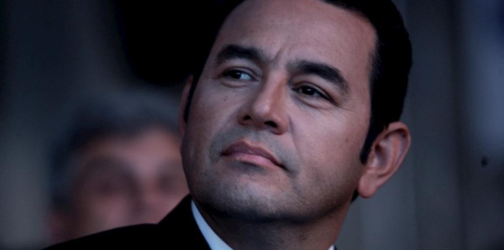 Jimmy Morales, presidente de Guatemala.