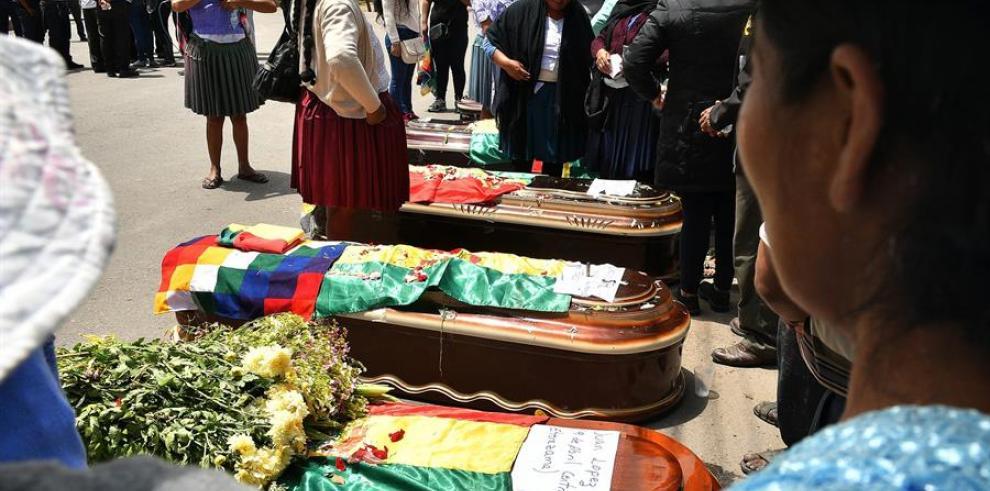 Protesta bolivia 2019