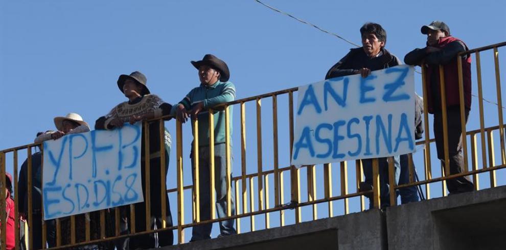protestas en Bolivia 2019