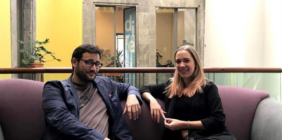 Valeria Castro y a Raúl Rubio hablan sobre The Game Summit en una charla con EFE.