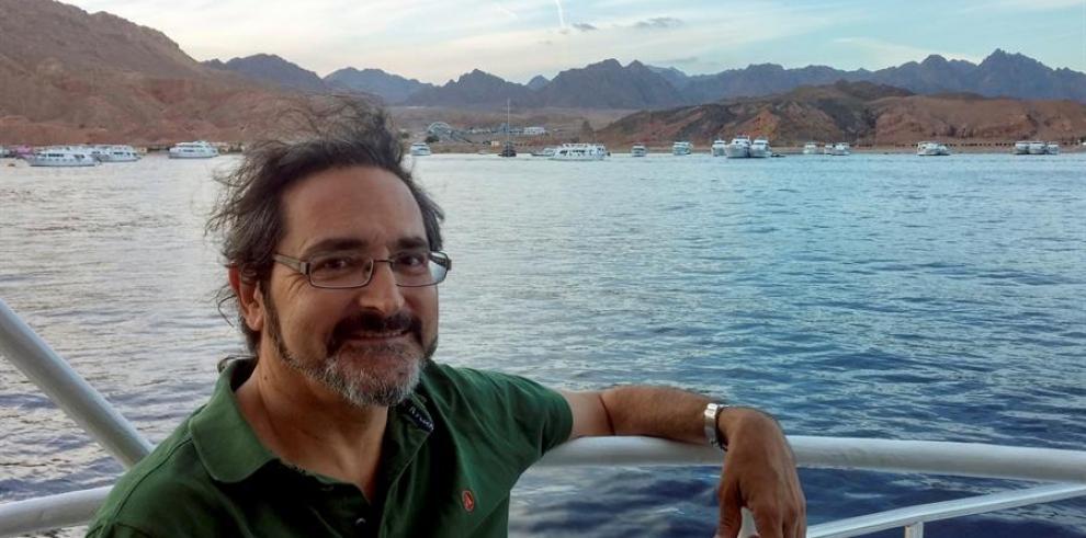 El científico Daniel Cebrián Menchero, director de Programas en el Centro de Biodiversidad de Mediterráneo de la ONU con sede en Túnez