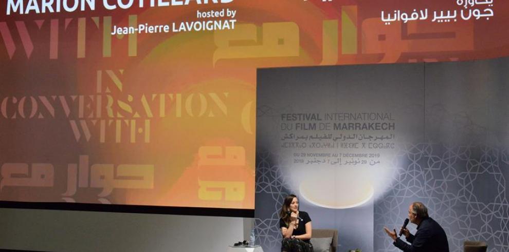 La actriz francesa Marion Cotillard