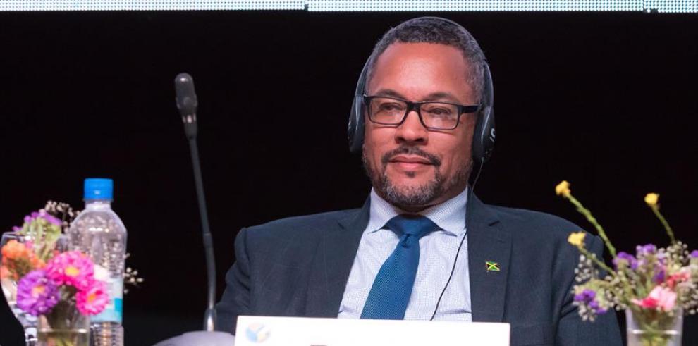 Christopher Barnes, presidente de la Sociedad Interamericana de Prensa (SIP).