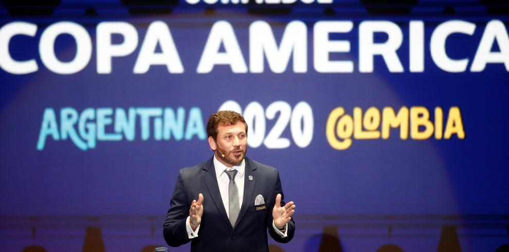 Sorteo de la Copa América Argentina Colombia 2020
