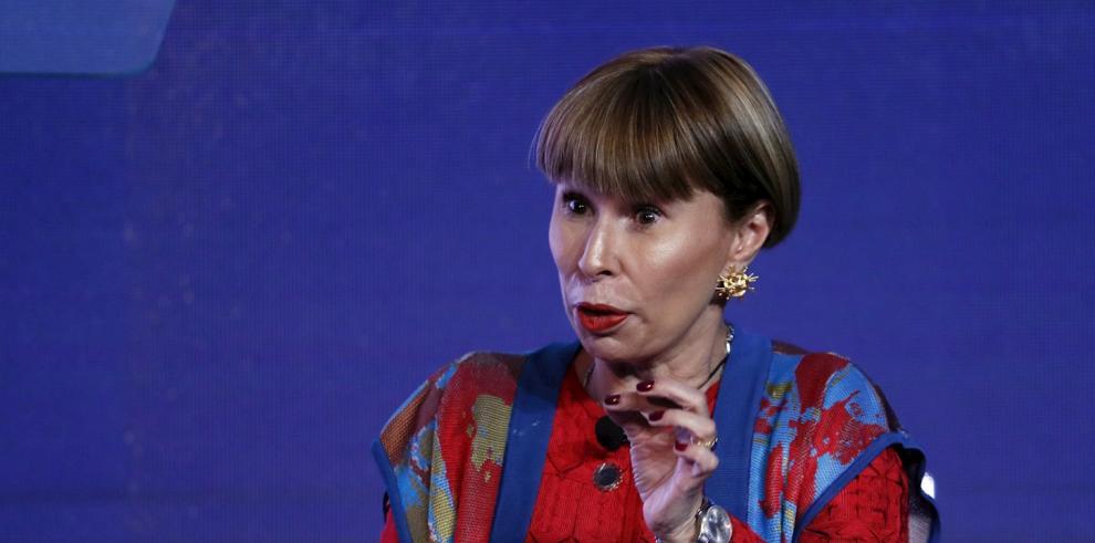 La ministra de Trabajo de Colombia, Alicia Arango.