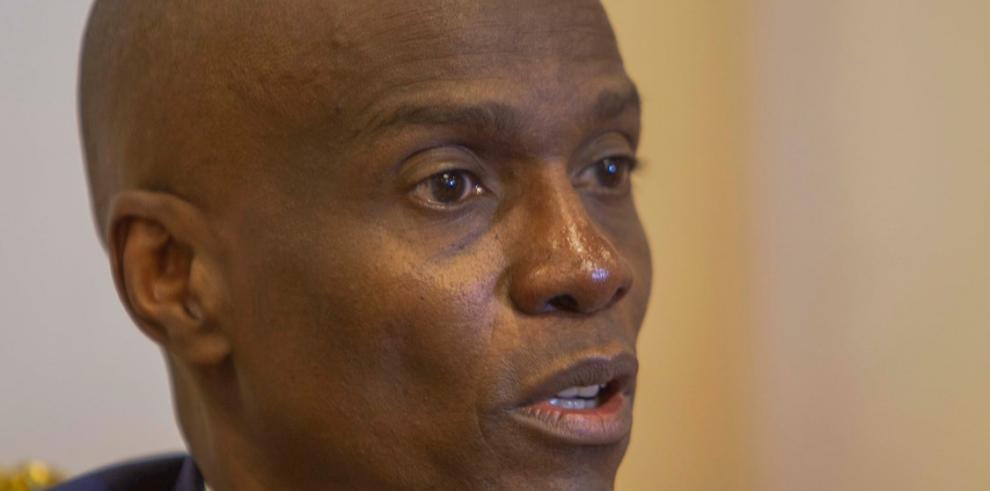 El presidente de Haití, Jovenel Moise, en entrevista con EFE en Puerto Principe (Haití). b