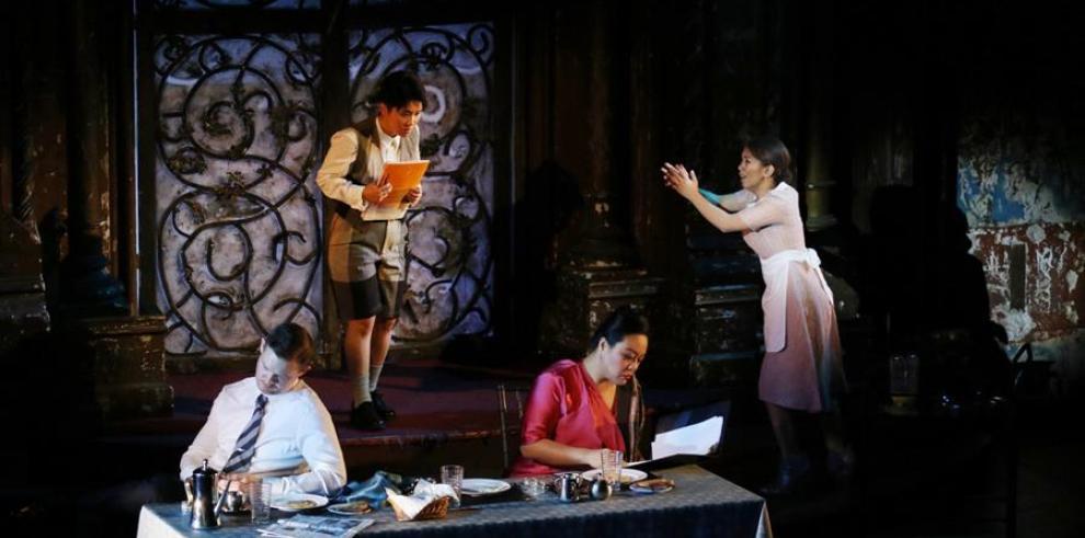 Fotografía cedida por la Fundación Ángel Orensanz de un momento de la ópera