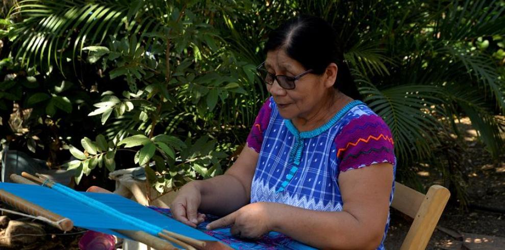 La indígena tzotzil Carmen Vázquez