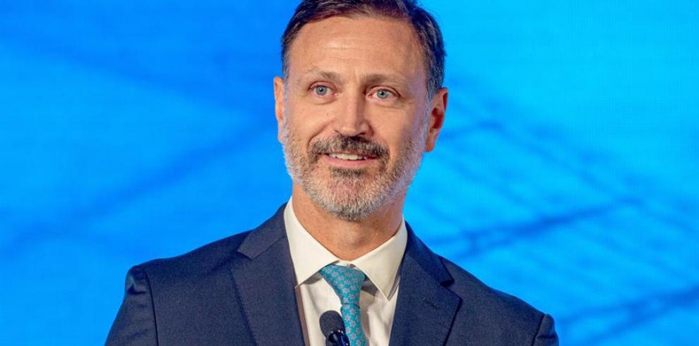 El secretario general de la Concacaf, Philippe Moggio.