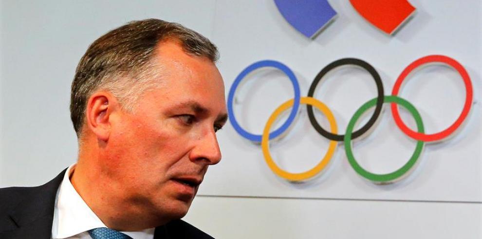 El presidente del Comité Olímpico Ruso (COR), Stanislav Pozdniakov