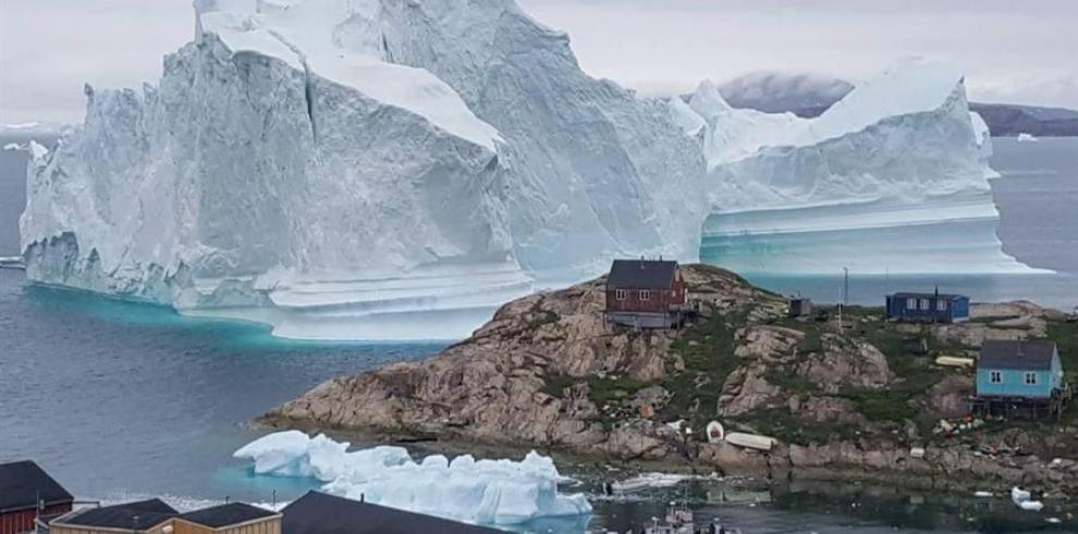 Groenlandia iceberg
