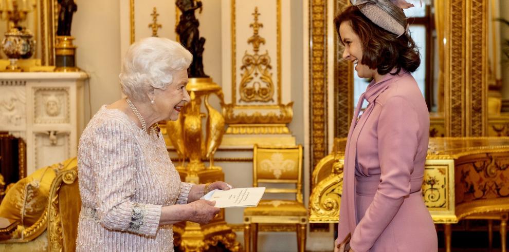 Embajadora de Panamá ante el reino Unido