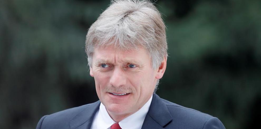 Portavoz del Kremlin, Dmitri Peskov.