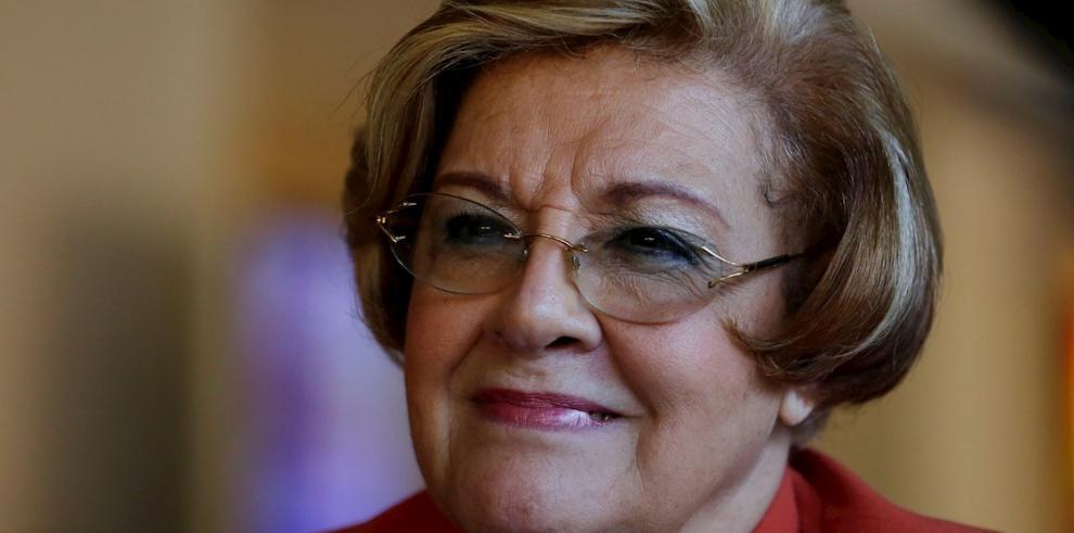 Esmeralda Arosemena, presidenta de la Comisión Interamericana de Derechos Humanos