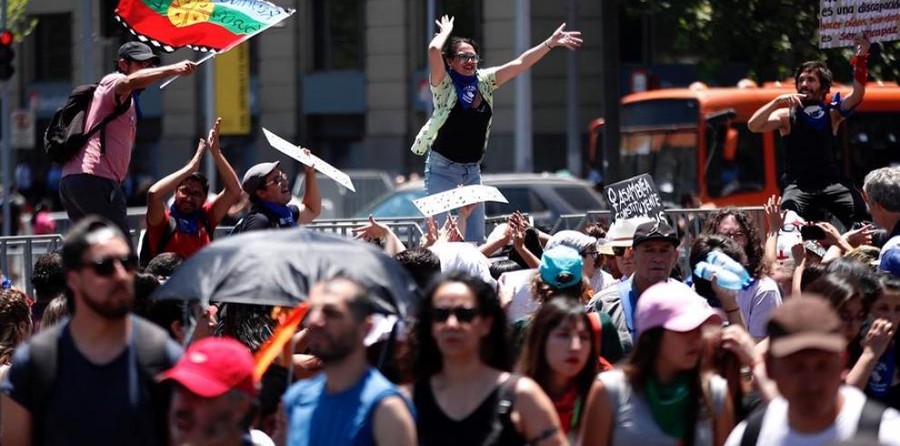 Protestas en Chile Panamá 2019
