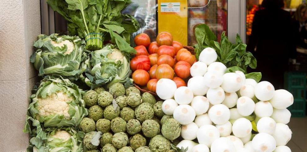 Inseguridad alimentaria, verduras