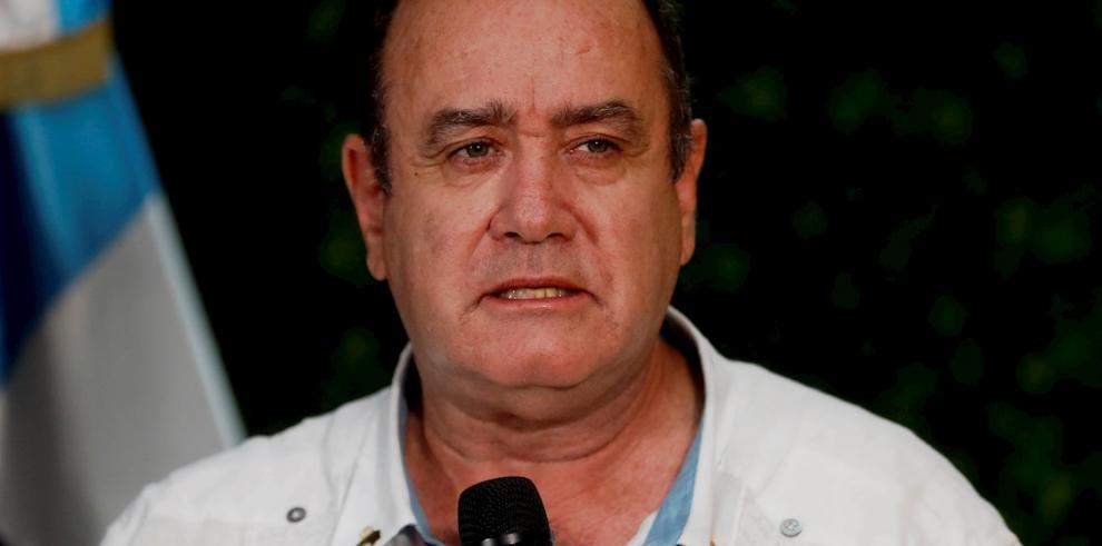 El presidente electo de Guatemala, Alejandro Giammatte.