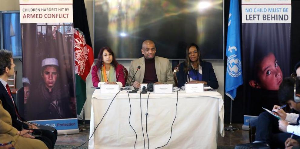 Nueve niños mueren o son mutilados cada día en Afganistán, según Unicef