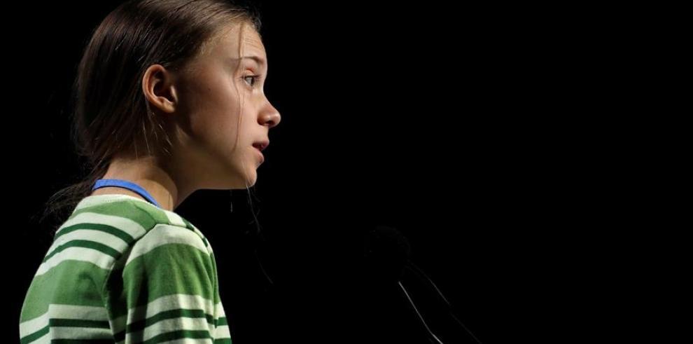 La activista sueca Greta Thunberg.