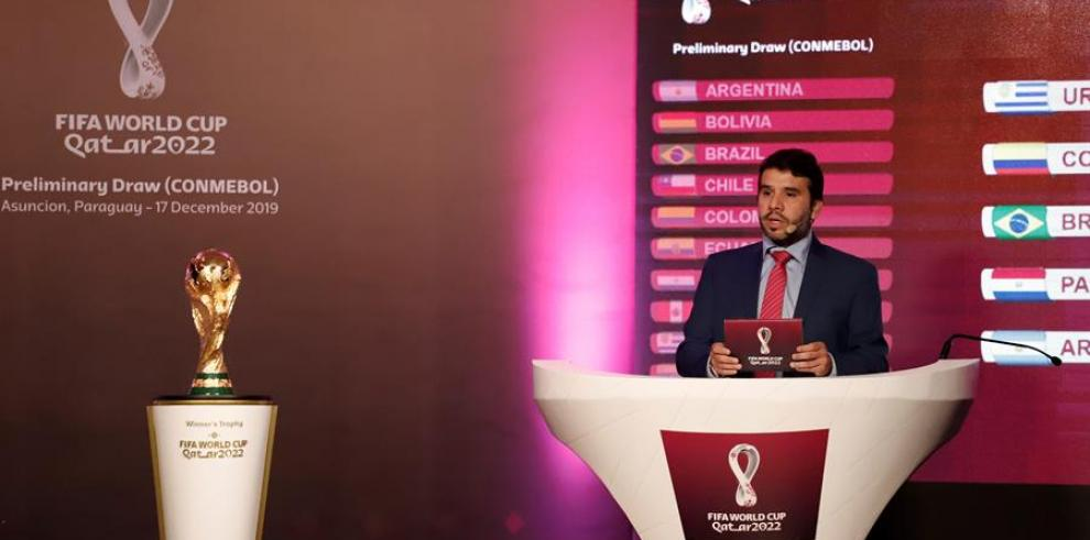 Sorteo Qatar para la Copa Mundial de Catar 2022.