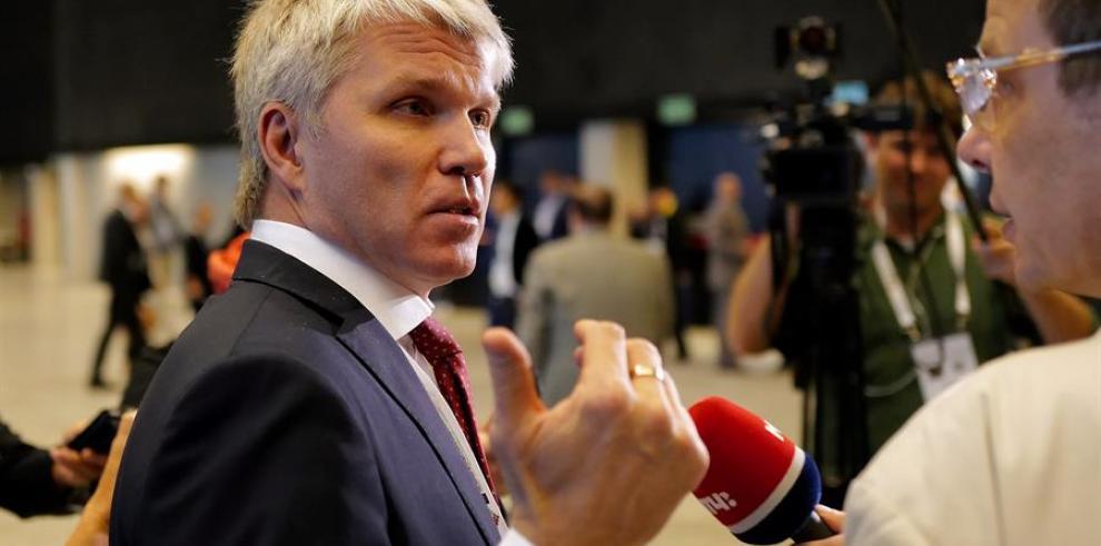 El ministro ruso de Deportes, Pável Kolobko