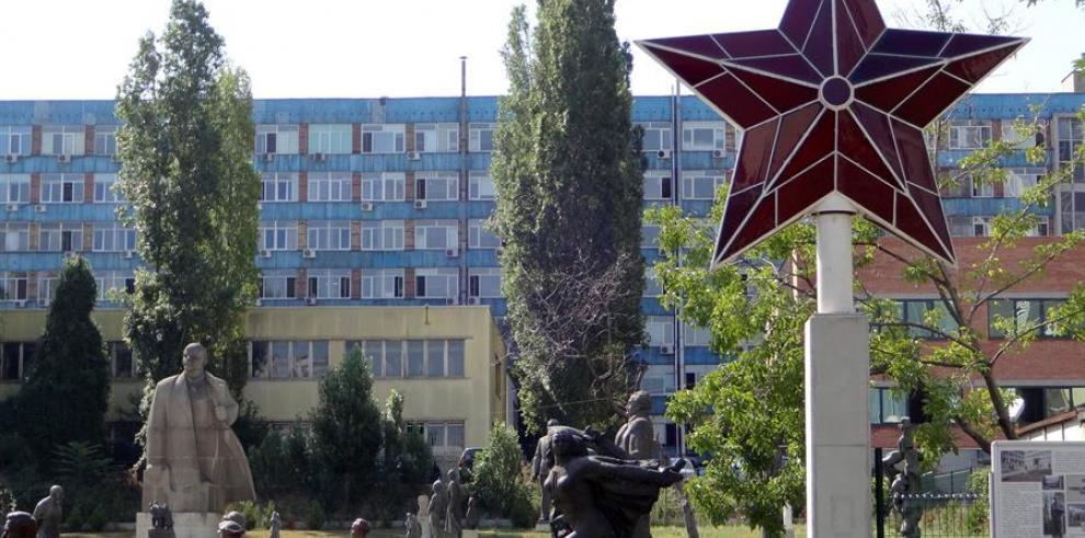 La estrella roja que coronó entre 1984 y 1990 la Casa del Partido, sede del gobierno y del partido comunista en la capital búlgara