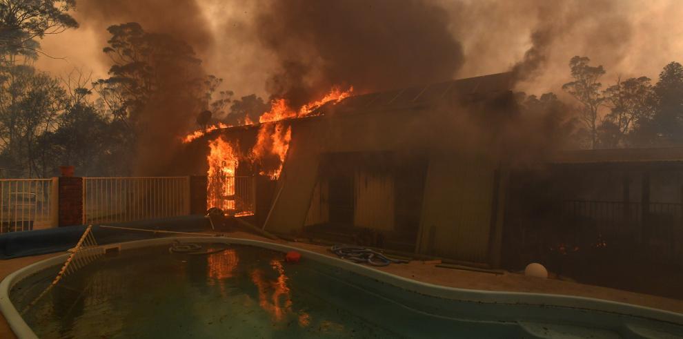 Declarado el estado de emergencia por los incendios en el este de Australia