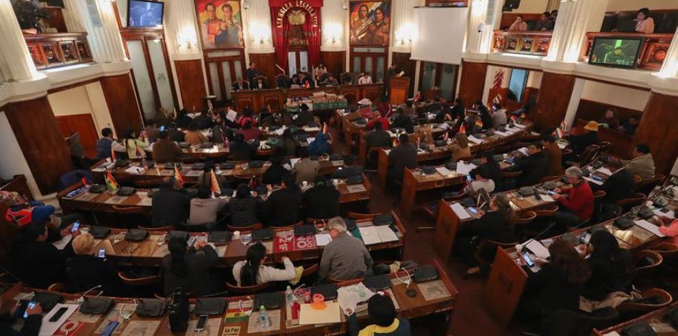 Parlamentarios bolivianos inician hoy miércoles la sesión tras la que se espera que salga un nuevo tribunal electoral