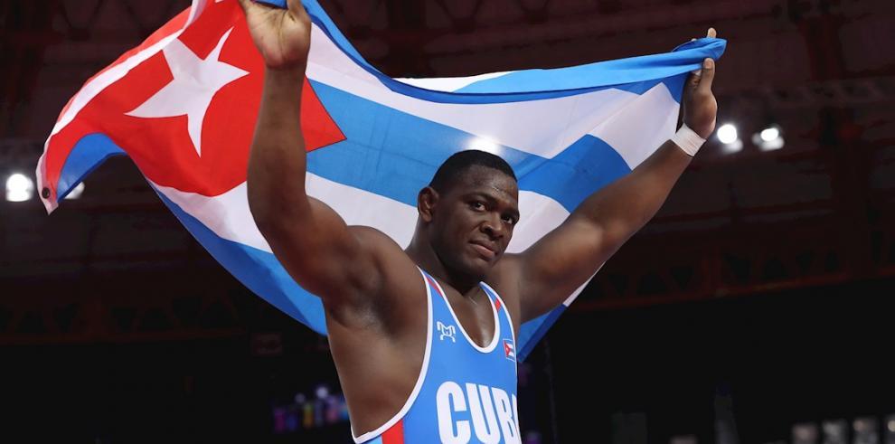 Mijaín López, deportista cubano.