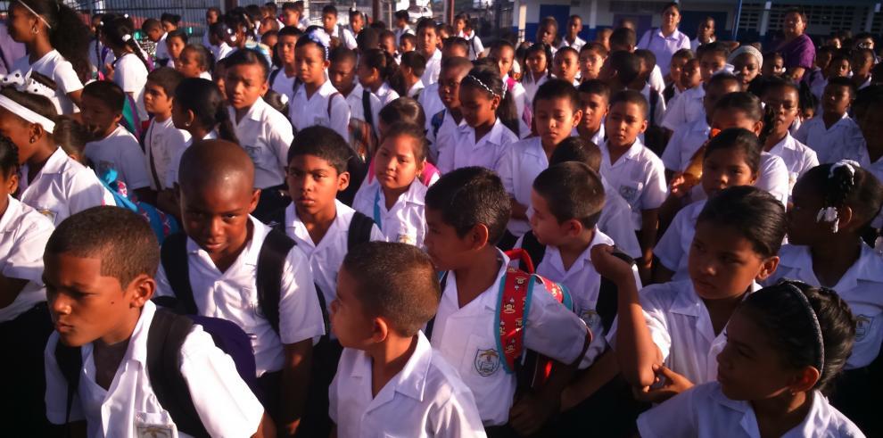 Estudiantes de escuelas pimarias