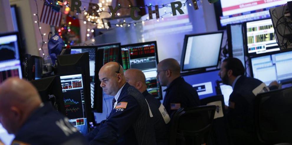Al término de la sesión en la Bolsa de Nueva York