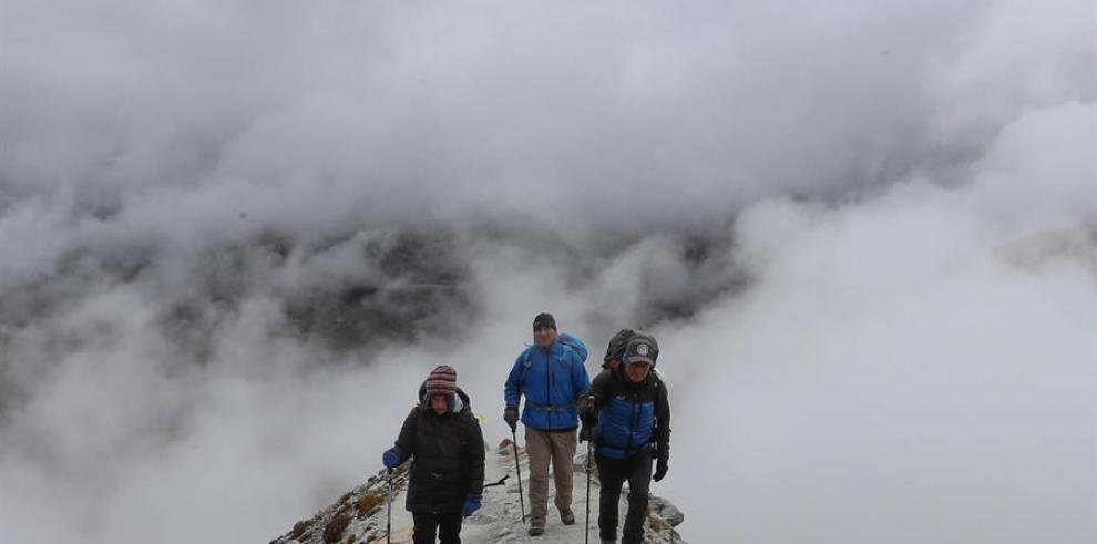 Nevado Huayna Potosí en La Paz (Bolivia).