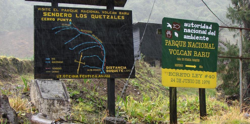 MiAmbiente suspende el acceso al Volcán Barú