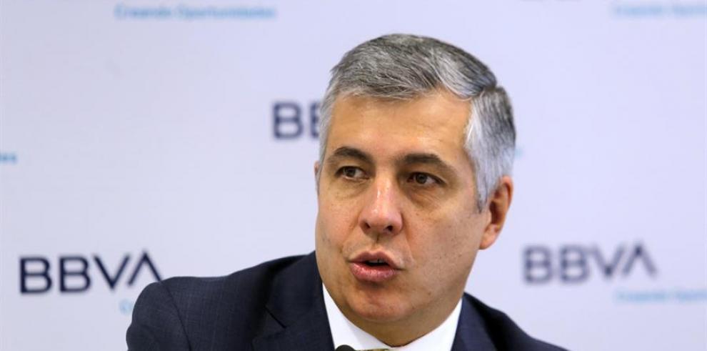 El economista jefe de BBVA México, Carlos Serrano