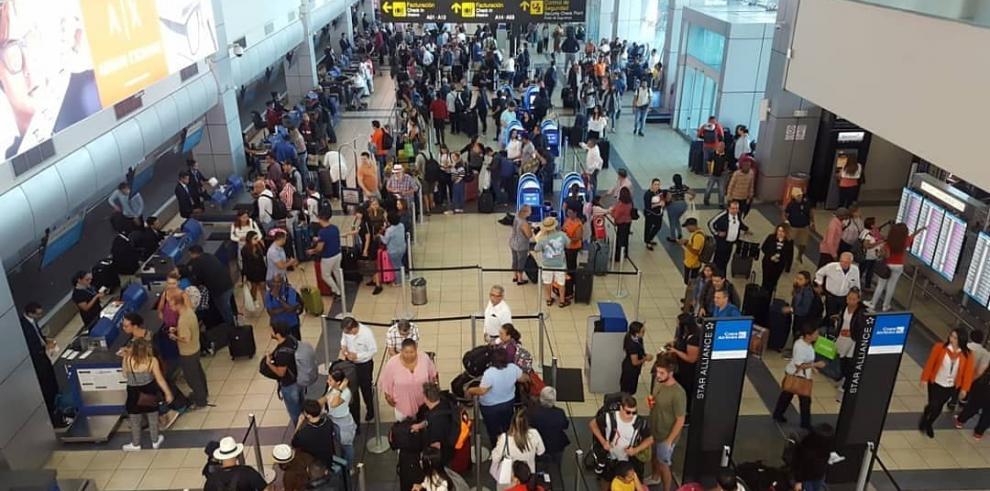 Aeropuerto Internacional de Tocumen proyecta movilizar 824,973 pasajeros en la segunda mitad de diciembre.