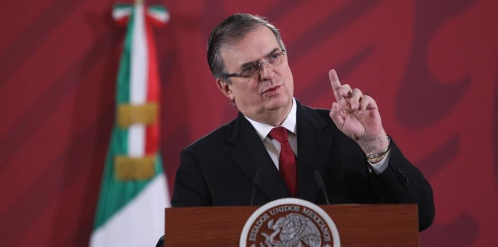 canciller de México, Marcelo Ebrard