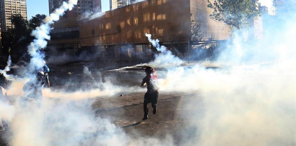 Protestas de Chile.