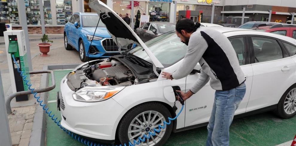 Egipto auto eléctrico