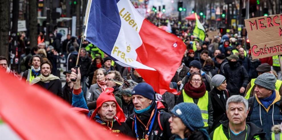 Huelga Nacional Francia 2019