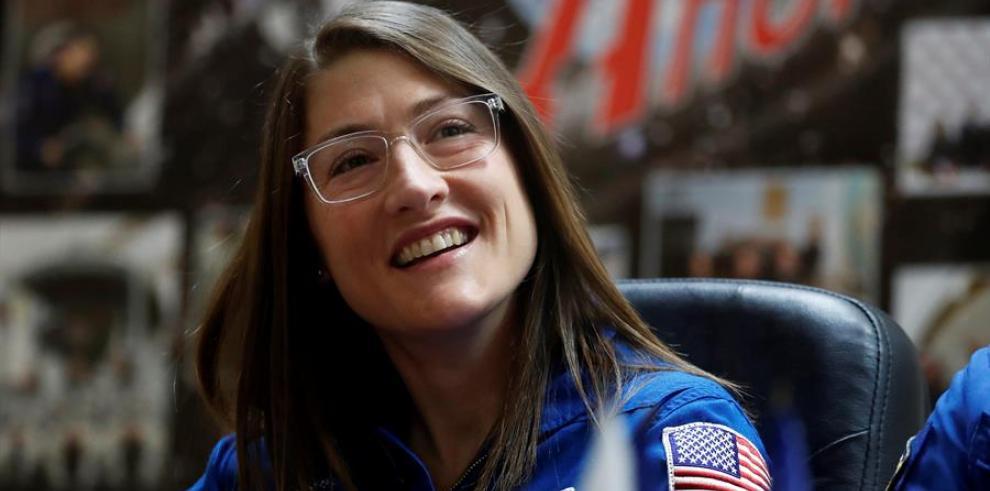 la astronauta Cristina Koch