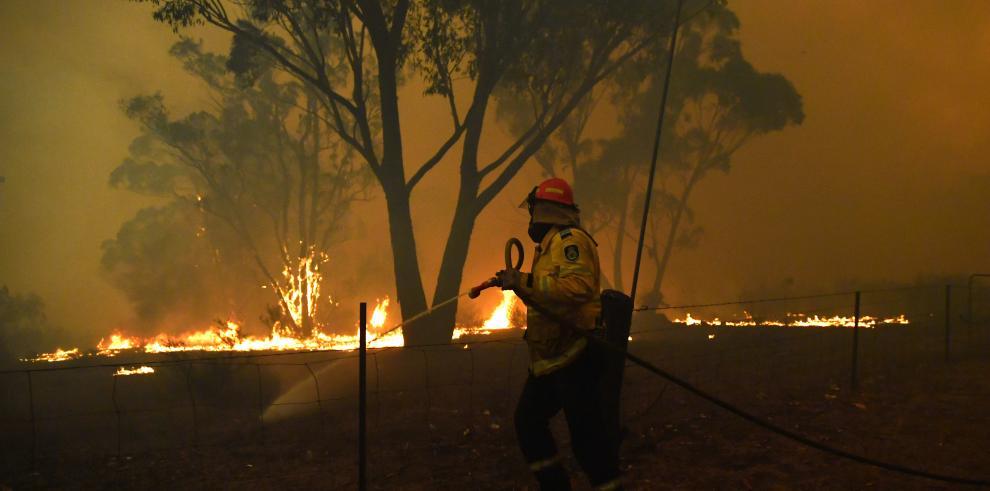 Los incendios han quemado ya unas 100.000 de las más de 300.000 hectáreas de East Gippsland