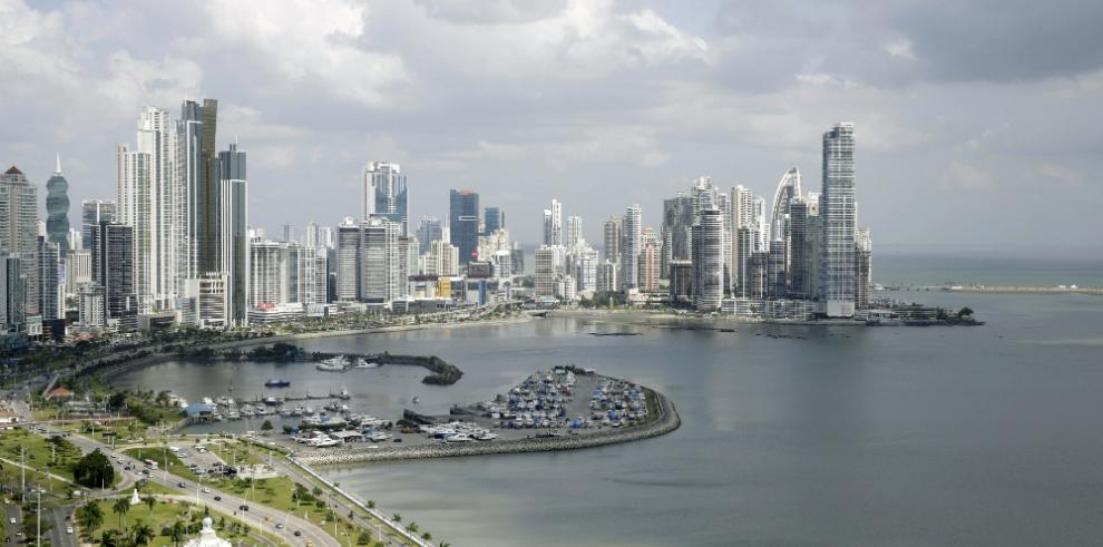 Panorámica de rascacielos Panamá