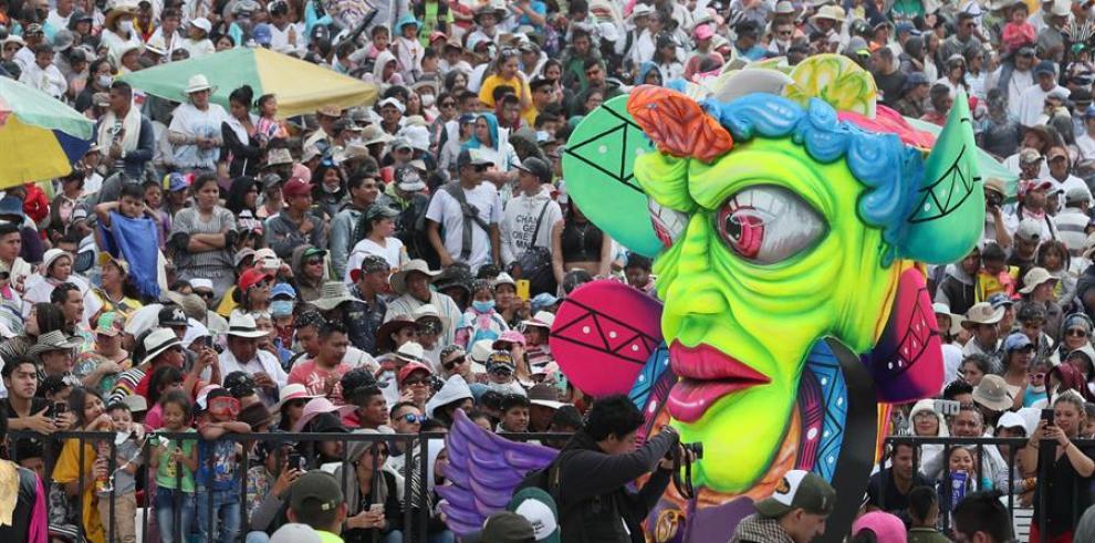 Carnaval de Negros y Blancos en Pasto Colombia