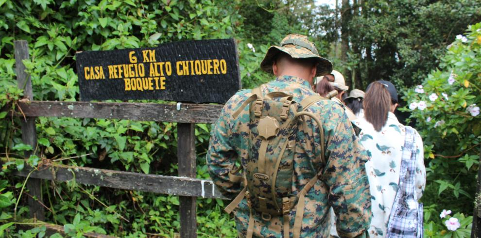 Visitas a áreas protegidas