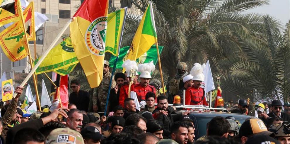 Multitud Popular, Irak - Irán 2020