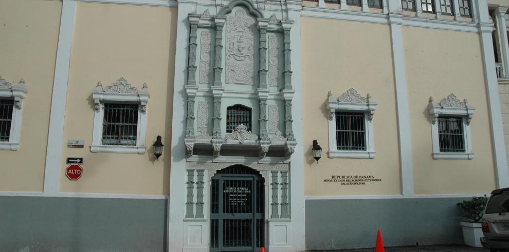 Sede de la Cancillería de Panamá
